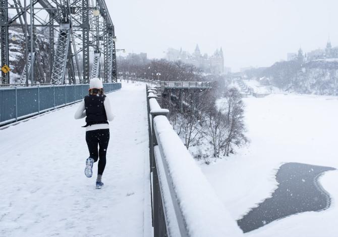 Correre in inverno senza ammalarsi