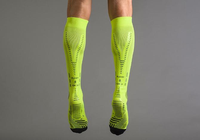 Run Up Floky, la prima calza per correre biomeccanica