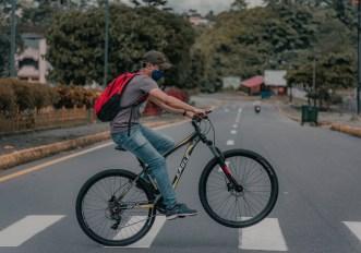 mascherina obbligatoria in bici
