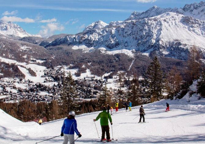 Sciare a Cortina