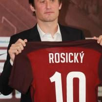 30.8.2016 Praha ČR sport/ fotbal reprezentace/ archiv/ Rosický Tomáš FOTO CPA