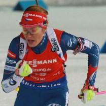 17.12.2016 Nove mesto na Morave / svetovy pohar/ biatlon/ sport/stihaci zavod/ pursuit women/zeny/ foto CPA