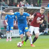 7.5.2017 / Praha / sport / fotbal / I. Fotbalova liga/ AC Sparta Praha / FC Slovan Liberec /1:0/ foto CPA