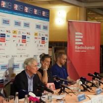 31.7.2017 Praha / Sport / atletika / TK pred odletem na MS v atletice Londyn foto CPA