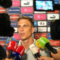 28.8.2017 Praha / sport/ fotbal/ reprezentace CR/ sraz reprezentace pred utkanim s Nemeckem FOTO CPA