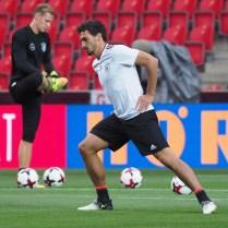 31.8.2017 Praha / sport/ fotbal / reprezentace / Ceska republika/ Nemecko / kvalifikace na MS. Foto CPA