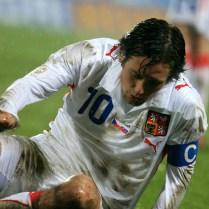 Rosický Česko Slovensko kvalifikace Euro 08 fotbal (10)