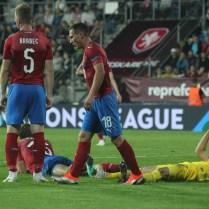 Česká republika Ukrajina UEFA NATIONS LEAGUE foto CPA