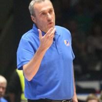 Česká republika Rusko kvalifikace na MS v Čině basketbal Ronen Ginzburg trener foto CPA