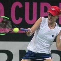 Praha finale FED CUP dvouhra Katerina Siniakova Alison Riskeova FOZO CPA