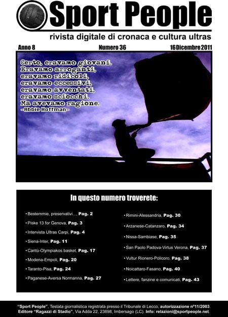 Copertina n° 2011-36