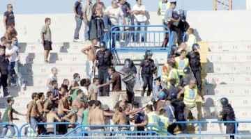 Gli scontri di Brindisi-Avellino