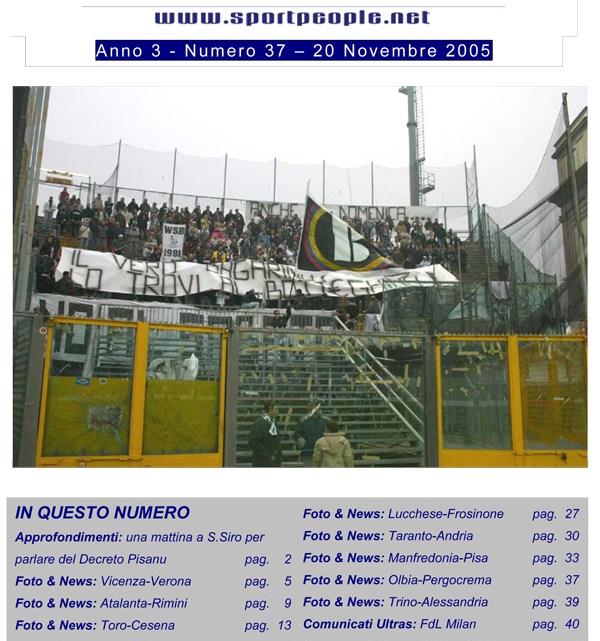 Copertina n° 2005-37