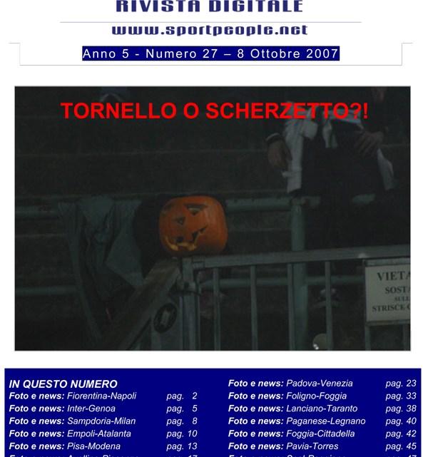 Copertina n° 2007-27