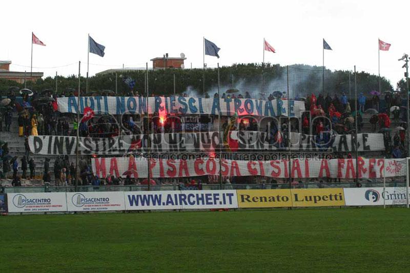 Pisa-L'Aquila 2-2, Lega Pro 1/B 2013/14