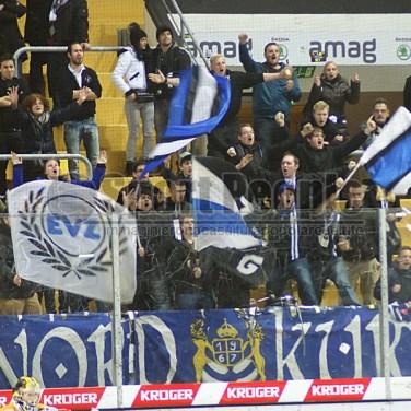 Lugano–Zug 2-3, LNA Svizzera 2013/14