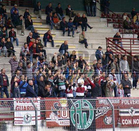Arezzo-Colligiana 0-1, Serie D/E 2013/14