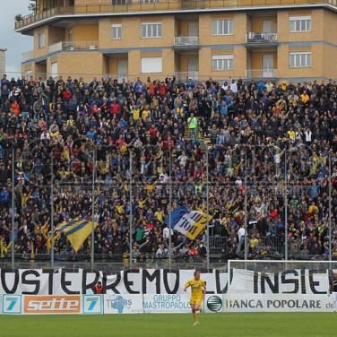 Frosinone-L'Aquila 3-0, Lega Pro 1/B 2013/14