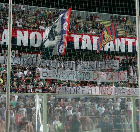 Taranto-Cosenza 0-0, amichevole 2014/15