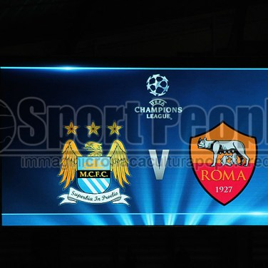 Manchester City-Roma 1-1, Champions League 2014/15