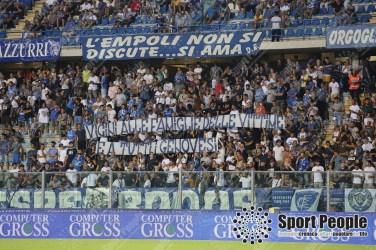Lo striscione empolese per Genova