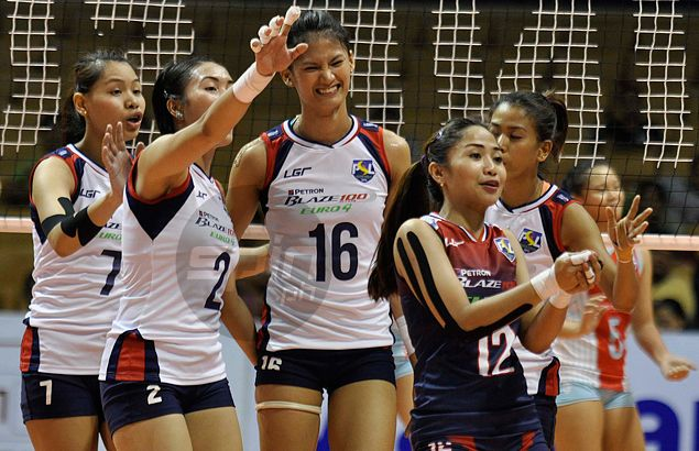 Petron served as the country's representative in the last AVC Asian Women's Club Volleyball Championship last month in Vietnam. | Photo by Dante Peralta via spin.ph