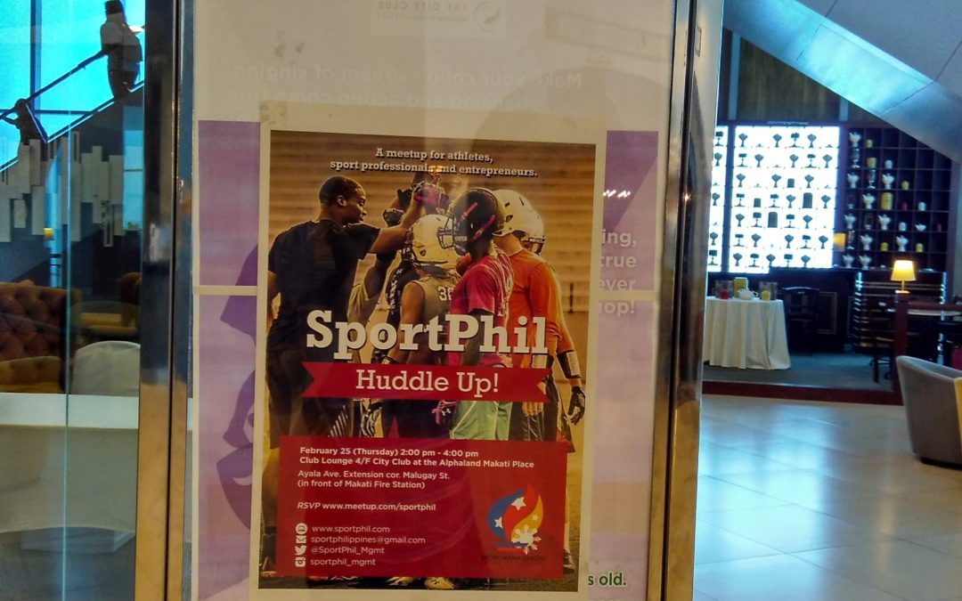 SportPhil Unites Organizations, Discusses Plans in First Ever Huddle Up