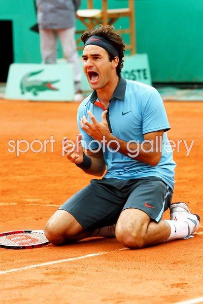 King Falls Am Wallpaper Roger Federer Completes Career Grand Slam Images Tennis