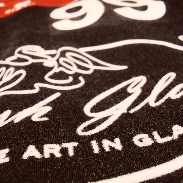 Flockprint Stylish Glass Sport Print