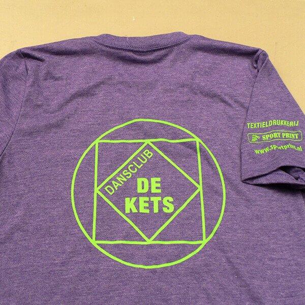 Zeefdruk T-shirts De Kets Sport Print