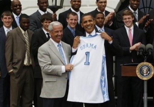 Obama Tar Heels