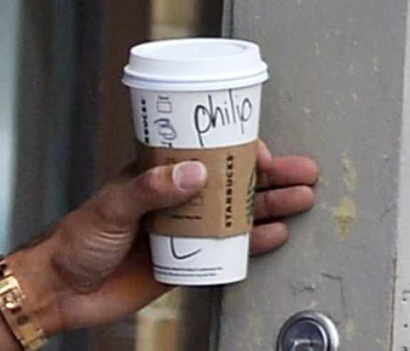 Derek Jeter seen going to Starbucks in the West Village in New York City