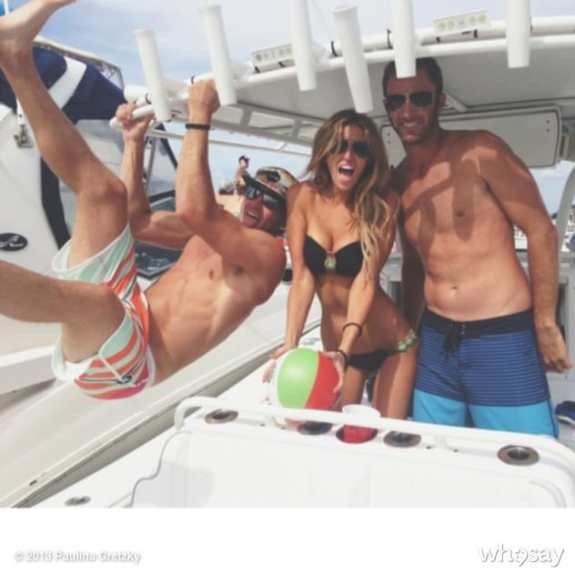 paulina-gretzky-dustin-johnson-boating