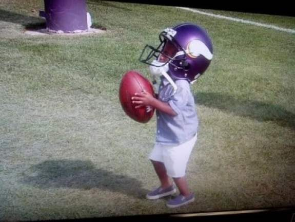 adrian-peterson-son-training-camp