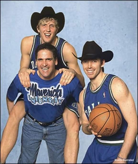 Steve Nash still haunted by the Nowitzki, Cuban 'Cowboy' pic (photo)