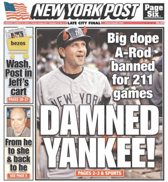 a-rod-damned-yankee-new-york-post
