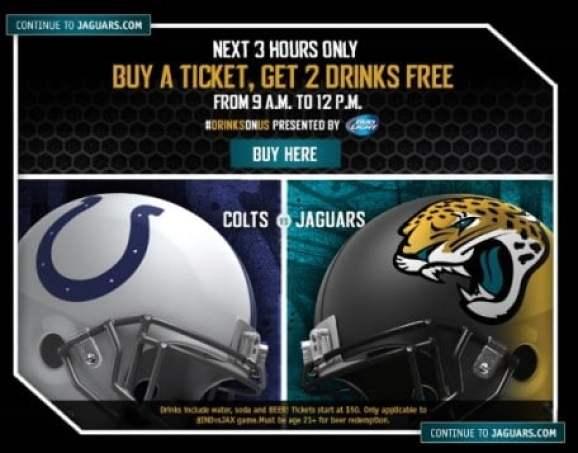 jacksonville-jaguars-free-beer