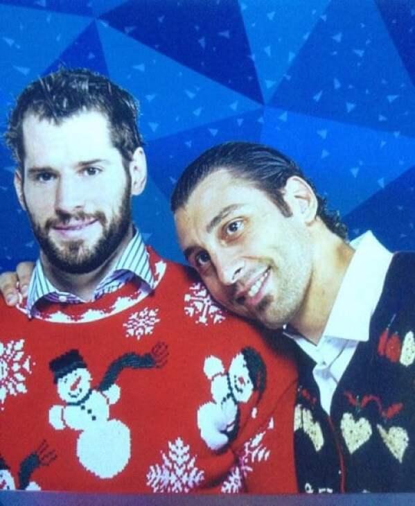 roberto-luongo-ryan-kessler-ugly-christmas-sweaters