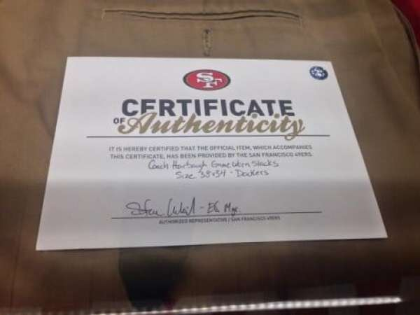 jim-harbaugh-khakis-certificate-of-authenticity