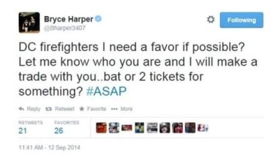 HarperFireTweet