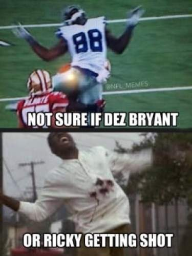Dez Bryant Approves Of Comparing His Reaction To Big Hit To