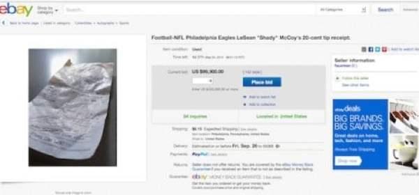 lesean-mccoy-receipt-ebay
