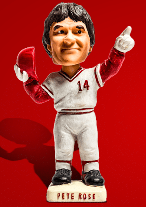 That S Something Pete Rose Placed On Bobblehead Hall
