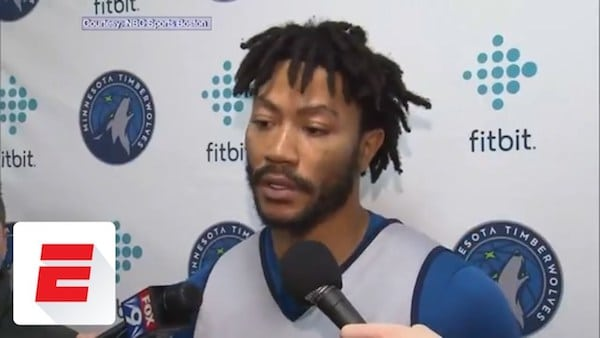 Watch: Derrick Rose blows away fan in China with home visit