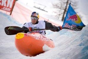 Snowkajak Martin Lugger