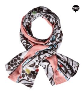 Extra breiter Schal
