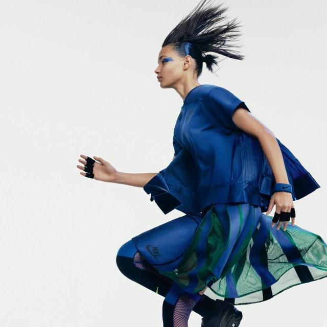 NikeLab_x_sacai_Binx_wearing_Tech_Fleece_Crew_and_Sport_Skirt_original