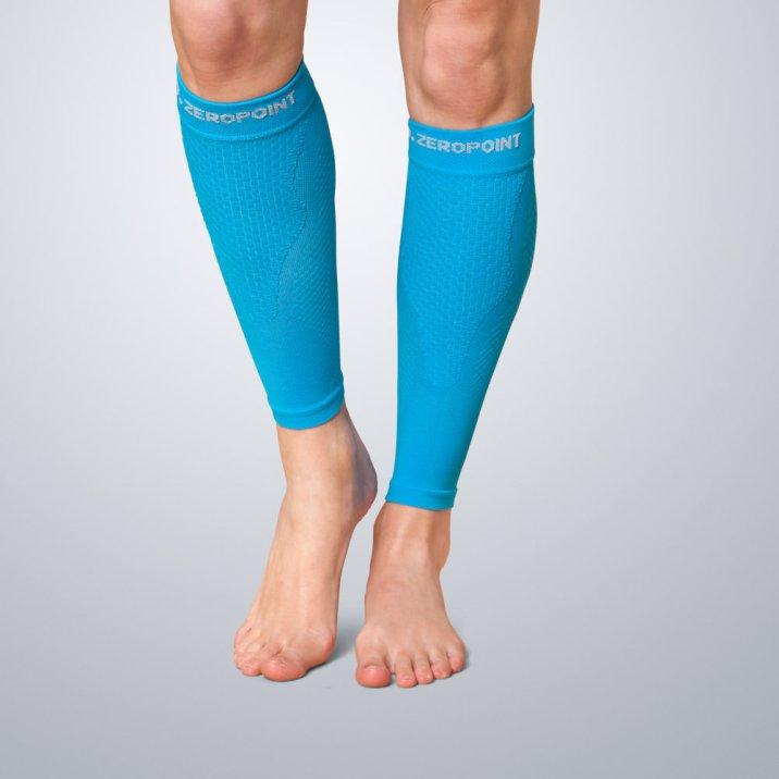 zeropoint-compression-calf-sleeves-stulpen-blau