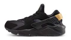 nike-huarache-run-black-gold-sneaker
