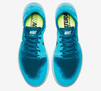 Nike-Free-RN-Run-Flyknit-2017-blau-oben-upper
